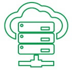 Data Center Operation Icon