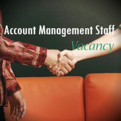 Account Management Staff Vacancy