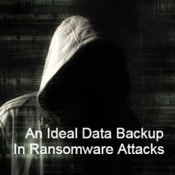 An Ideal Data Backup In The Ransomware Attack Case