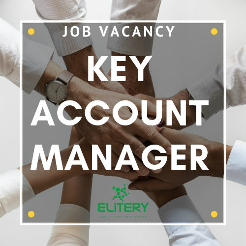 job vacancy: key account manager